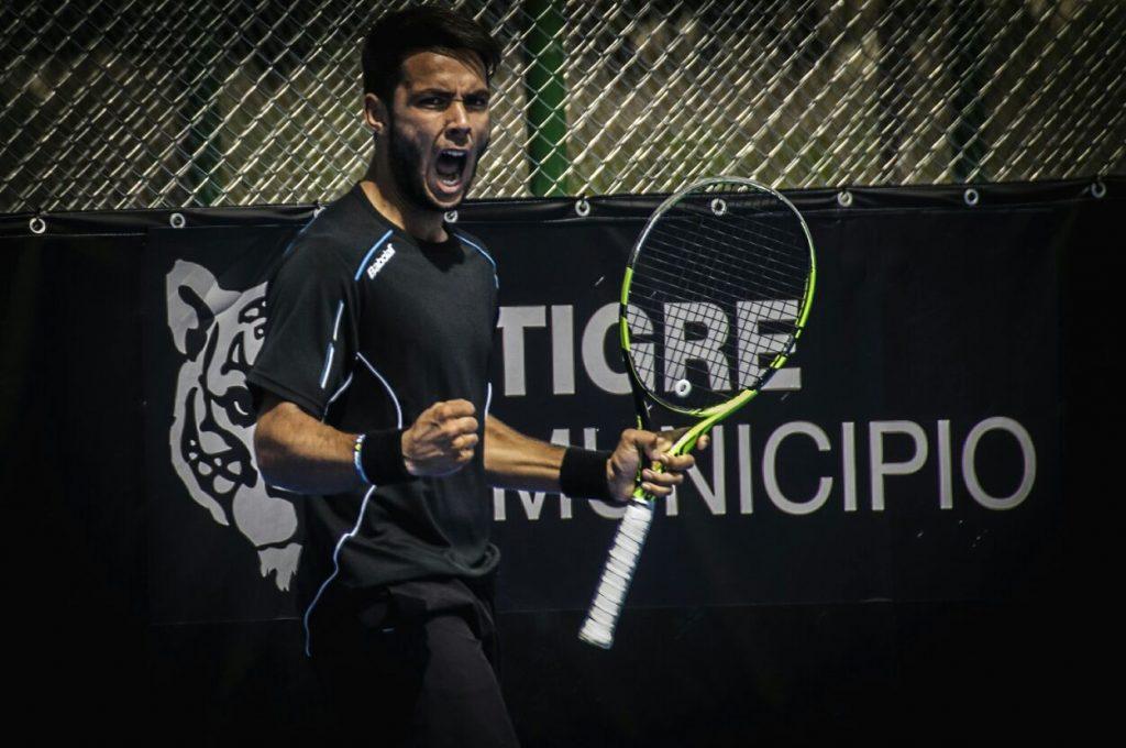 Genaro Olivieri, #8 ITF World Ranking 2016, Champion GA Abierto Juvenil Mexicano, 4tos Roland Garros Junior 2016; Finalist Future Chile 6 2016; Semis finalist USA Future 6 2017. #701 ATP. (Foto Gonzalo Chiappe)